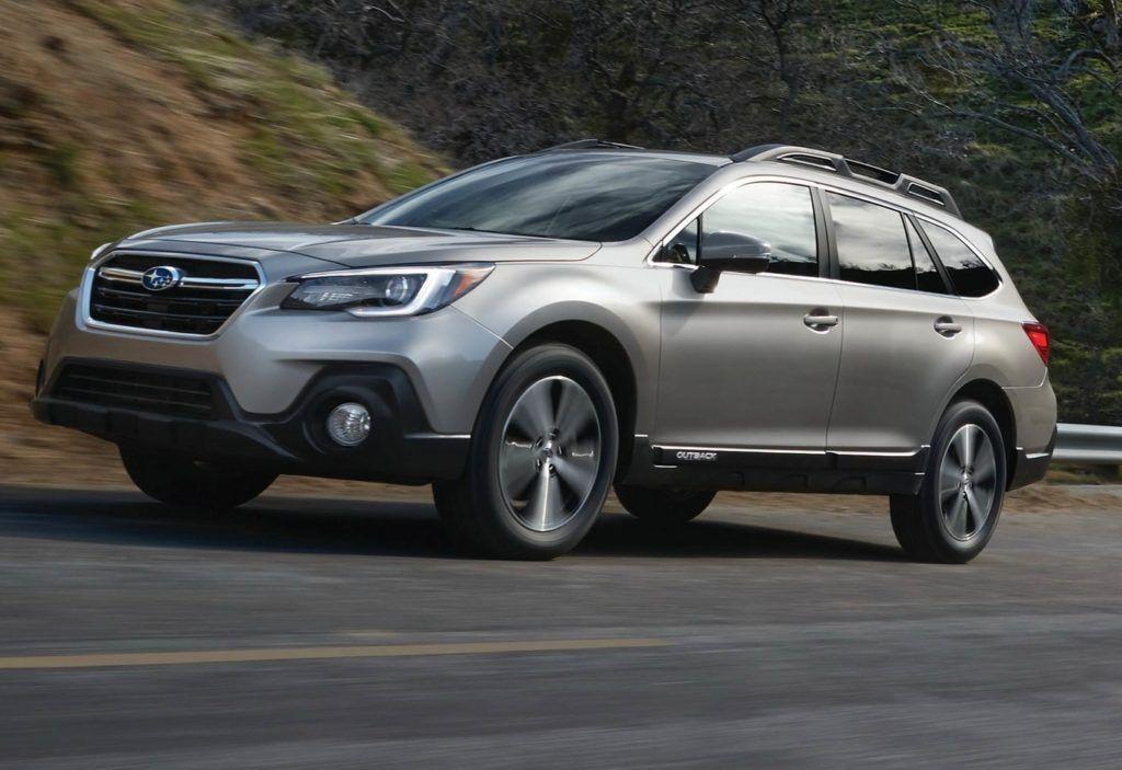 Subaru Outback retro