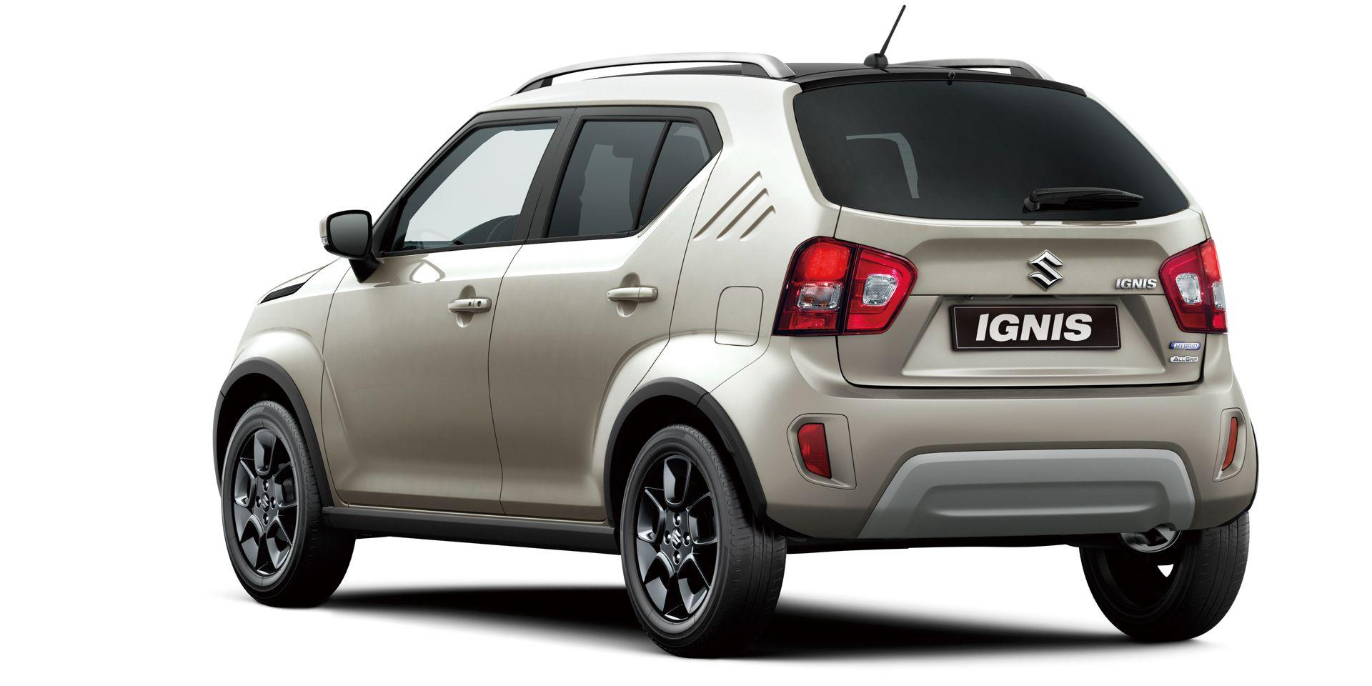 Suzuki Nuova Ignis Hybrid retro