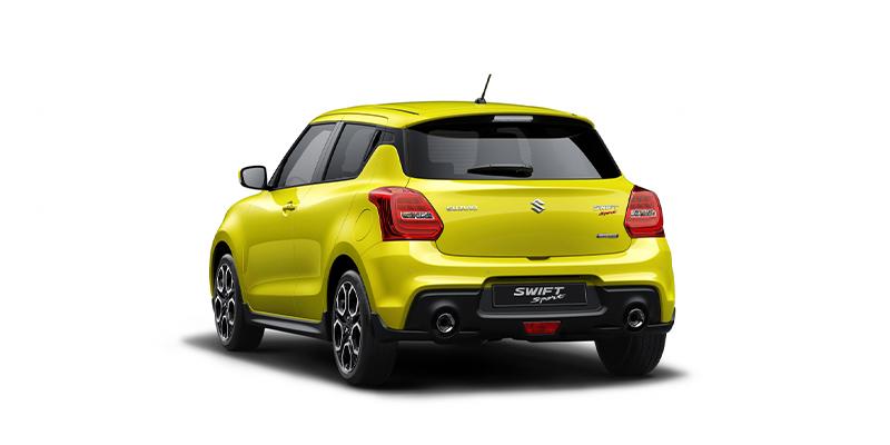 Suzuki Swift Sport Hybrid retro